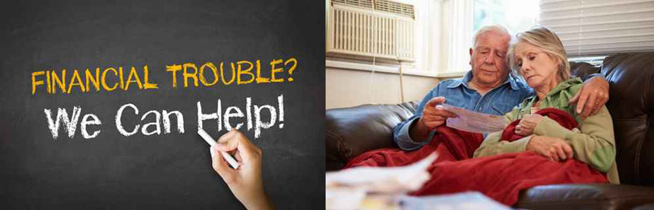 Financial trouble? - a worried couple
